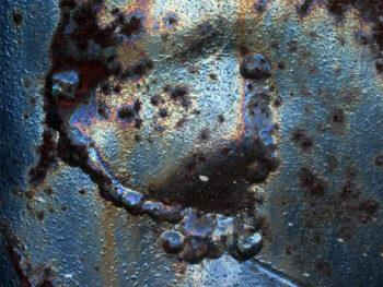 oil on steel